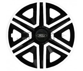 "Kołpaki  Ford 15"" Action bielo - czarny"