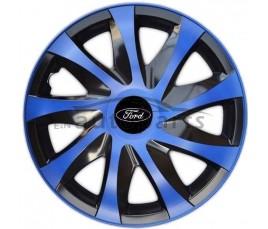"""Kołpaki  Ford 14"""" DRACO niebieski"""