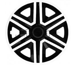 """Kołpaki  14"""" Action bielo - czarny"""