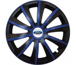 """Kołpaki zgodne  Ford 15"""" GRAL niebieski"""
