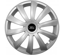 """Kołpaki zgodne  Ford 15"""" GRAL silver"""